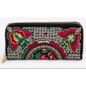 Handbags - Glam embroidery wallet